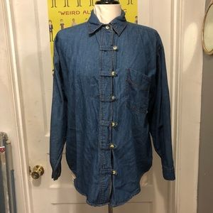 Vintage Chambray Button Up